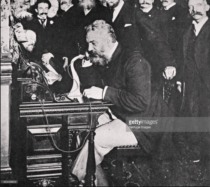 Alexander Graham Bell Phone Call