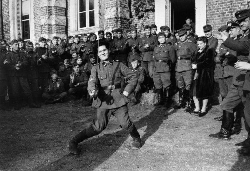 Türkistanlılar - Ekim 1943, Kuzey Fransa