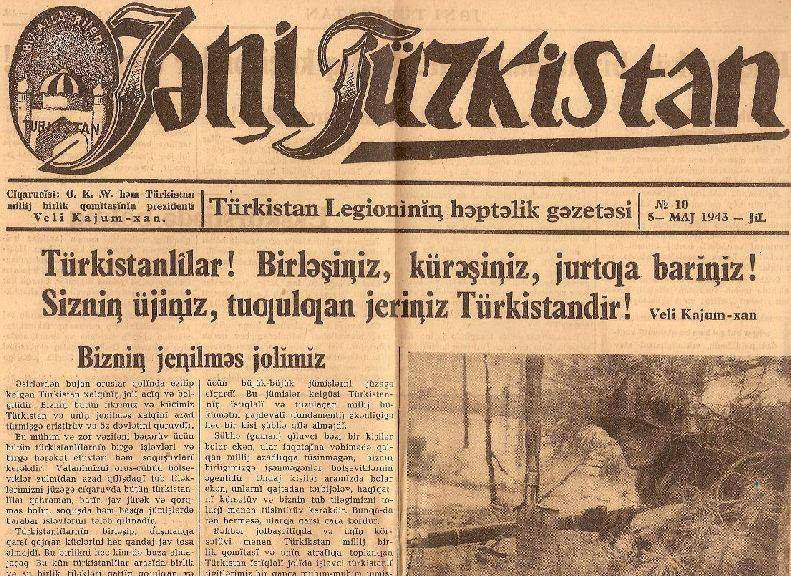 Yeni Türkistan Gazetesi