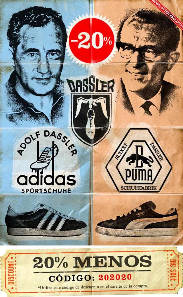 Adidas ve Puma'nın Hikayesi
