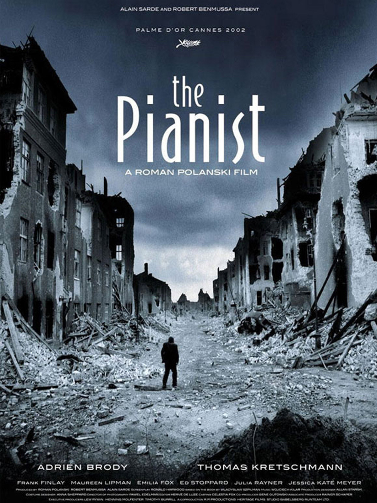 Piyanist (The Pianist) afiş